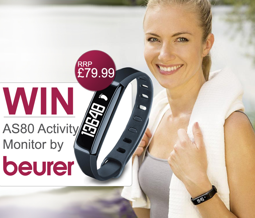 WIN a Beurer AS80 New Generation Activity Monitor & Stick to your fitness goals