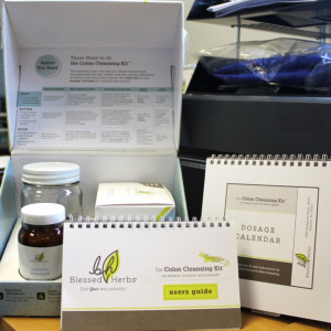 The best-selling Colon Cleanse from Blessed Herbs