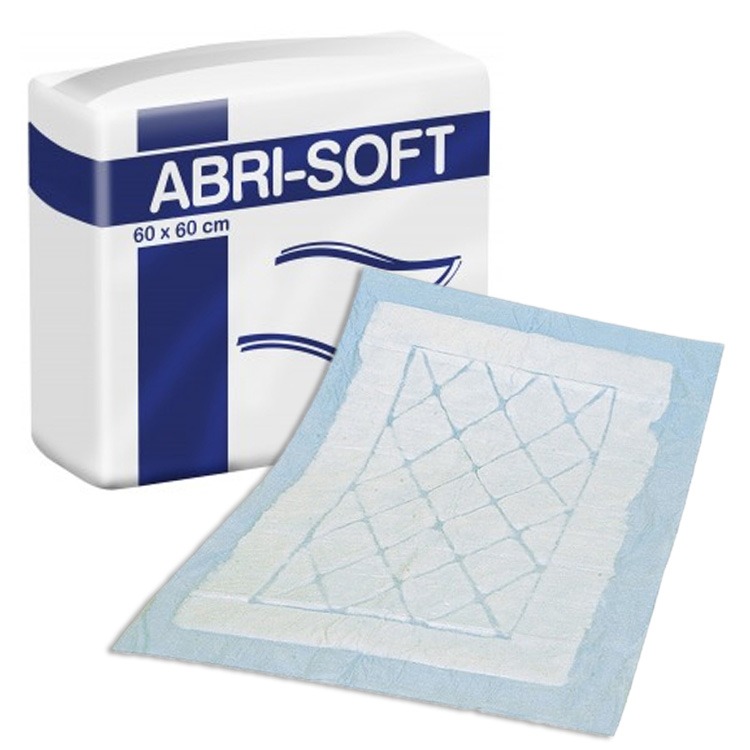 abri soft disposable incontinence under sheets 60x60cm. Black Bedroom Furniture Sets. Home Design Ideas
