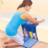 Ideaworks Bathtub Caddy with Kneeling Pad