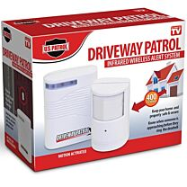 US Patrol Driveway Patrol Infrared Wireless Alert System