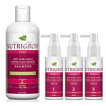 Nutrigrow Hair Nourishment System Serum & Shampoo 1