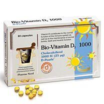 Pharma Nord Bio-Vitamin D3 1000 IU (80 capsules)