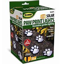 Ideaworks Paw Print Garden Lights