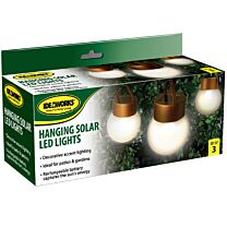 Ideaworks Set of 3 Hanging Solar LED Lights