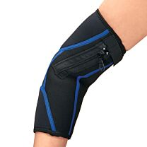 Easy On/Off Zipper Compression Elbow Sleeve 1