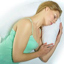 Natural Health Supports™ Orthopaedic Side Sleeper Pillow 1