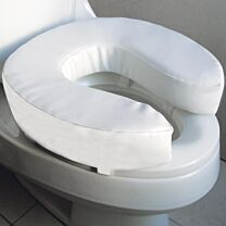 Soft Raised Toilet Seat 1