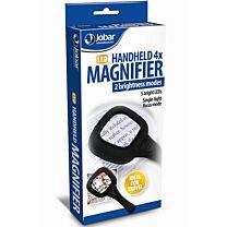 Jobar LED Handheld 4x Magnifier