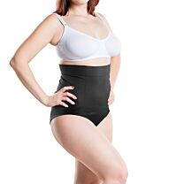 Post Op Panty High Waist: Compression + Silicone Scar Care Black Small/Medium 1