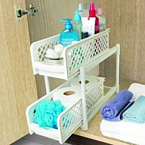 Ideaworks Portable 2-Tier Basket Drawers