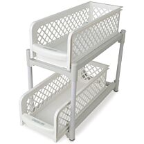 Ideaworks Portable 2-Tier Basket Drawers 4