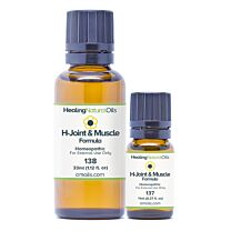 Healing Natural Oils H-Joint & Muscle Formula 1