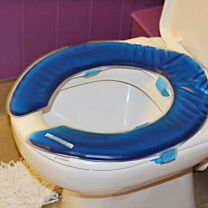 Pressure Relieving Gel Toilet Pad Commode Seat 1