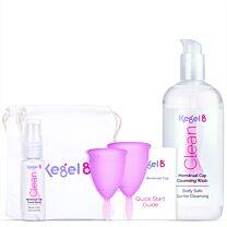 Kegel8 Menstrual Cup Starter Pack 1