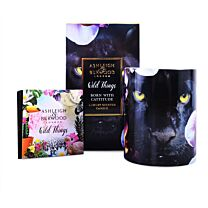 Ashleigh & Burwood Wild Things Candle - Born With Cattitude  1