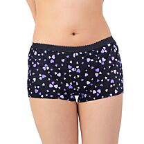 Ladies Shortie Brief Discreet Cotton Incontinence Pants with Built-In Pad (Medium Absorbency) 1