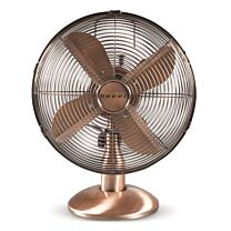 Beper Copper Coated Retro Style Table Fan 1