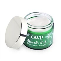 Organic Where Possible (OWP) Beeswax & Lavender Muscle Rub 3