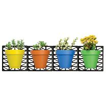 Ideaworks Wall-Mount Planter Set 1