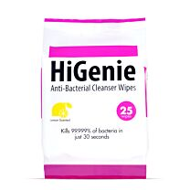 HiGenie Anti-Bacterial Cleanser Wipes 1