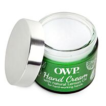 Organic Where Possible (OWP) Lemon Oil Hardworking Hands Intense Moisturising Cream  1