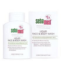 SebaMed Liquid Face & Body Wash 1