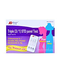 Thrush, Bacterial Vaginosis and Trichomonas 3 in 1 Rapid Test Kit 1