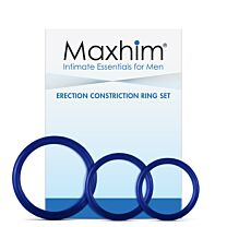 Maxhim Erection Constriction Ring Set  1