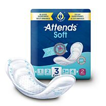 Attends Soft 3 Incontinence Pads Sample 1