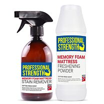 Professional Strength Cotton Fresh Memory Foam Stain Remover and Freshener Pack 2 1