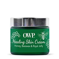 Organic Where Possible (OWP) Honey, Beeswax & Royal Jelly Skin Healing Cream 2