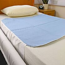 Super Absorbent Bed Pad with Under-Mattress Tucks 1