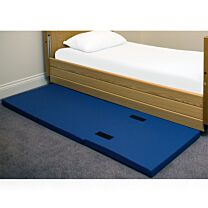 Crash mat, foldable, with fastening straps, 60x190cm 2