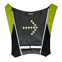 Cyclist Illuminated Safety Vest with Indicator 1