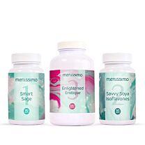 Menissimo Menopause Foundation Smart Sage/Savvy Soy/Erotique 1