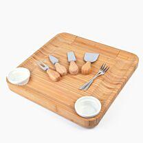 Bambooista Bamboo Cheese Board 1