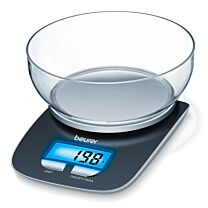 Beurer KS25 Kitchen Scale with Dishwasher Safe Bowl 0