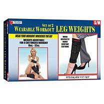 Wearable Workout Leg Weights 1