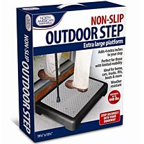 Non-Slip Outdoor Step Extra Large Platform
