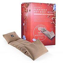 Treets Hot Body Wrap Flaxseed Heat Pad