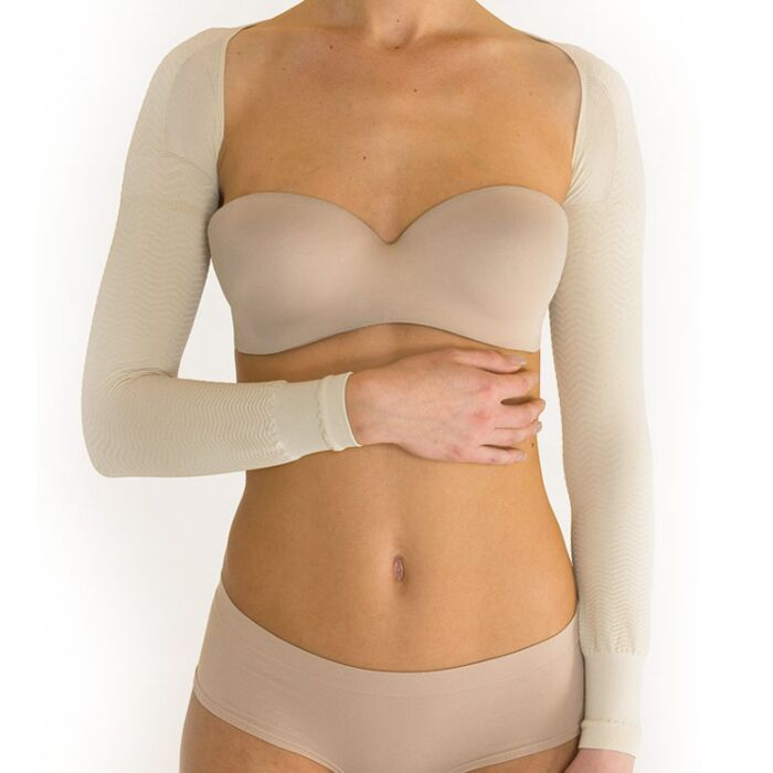 Ideaworks Posture//Slimming Arm Shaper Beige Lightweight One Size Fits Most New!