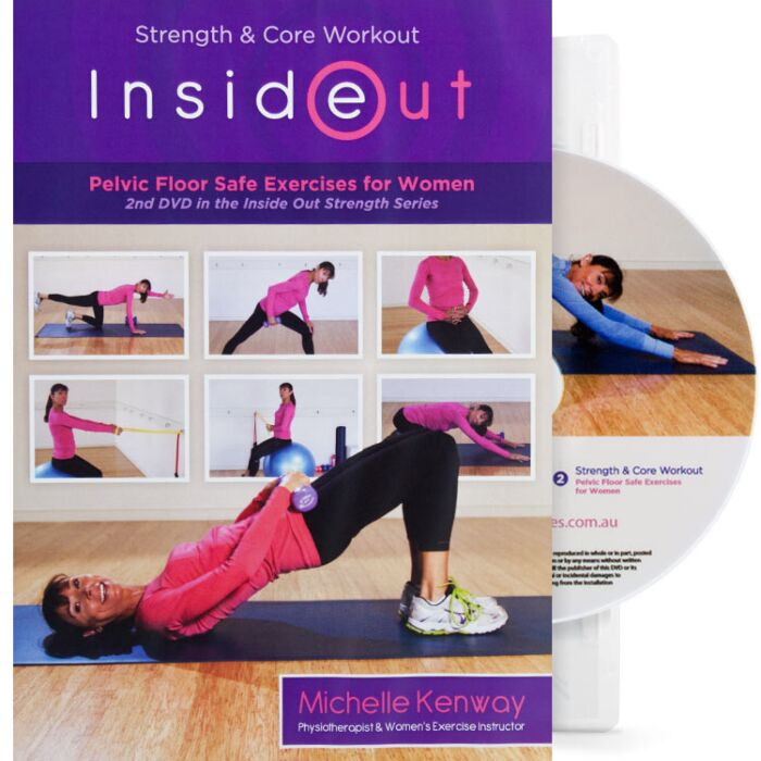 Michelle Kenway Strength And Core Dvd Stressnomore