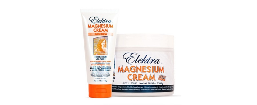 Elektra Magnesium Cream Zest Citrus