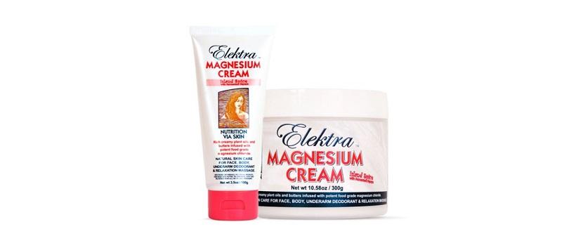 Elektra Magnesium Cream Island Spice