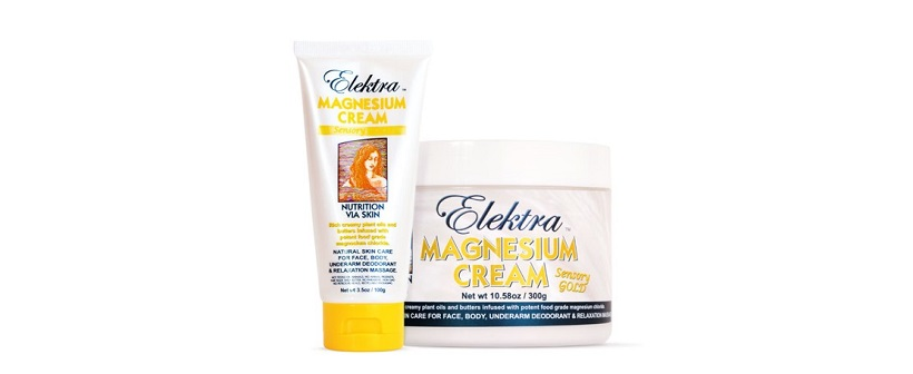 Elektra Magnesium Cream Sensory Gold