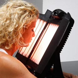 Use the Collagen Lamp for 25 minutes each day and you will see results in 3-4 weeks