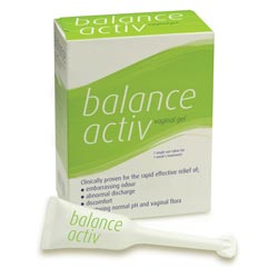 Balance Activ is a simple over the counter BV treatment