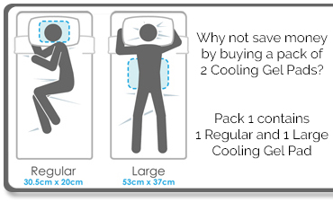 Cooling Gel Pad Pack Offer