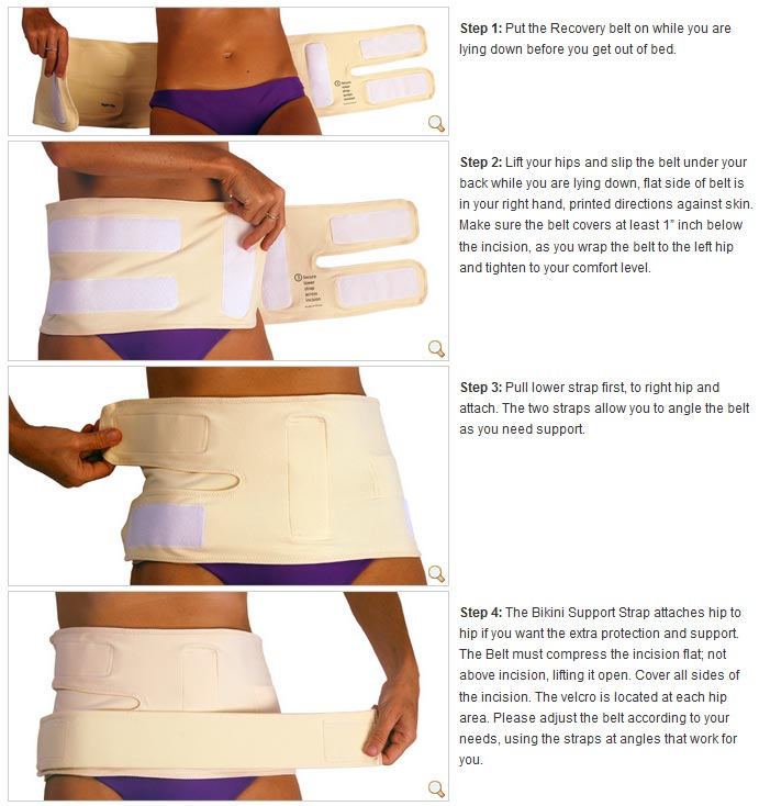 Abdomend C Section Recovery Maternity Support Belt Stressnomore